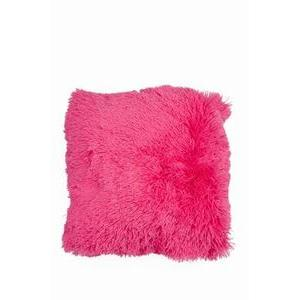 Coussin Shaggy - Rose