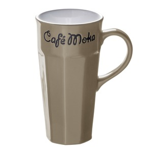 Mug collection Café Moka en grès - 31 cl - Beige