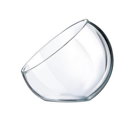 Lot de 6 verrines Versatile en verre - 4 cl - Blanc transparent
