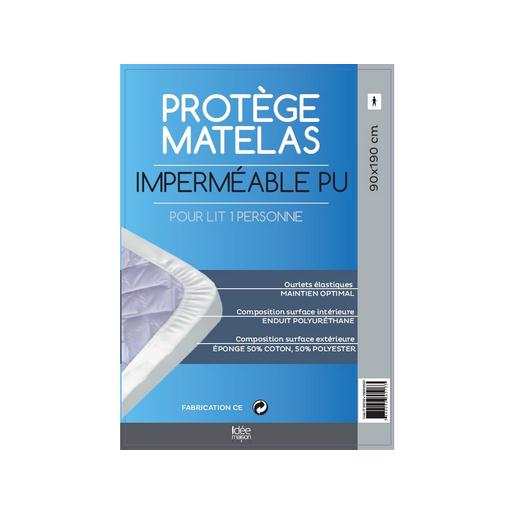 Protège Matelas Imperméable 90 X 190 Cm Linge De Lit