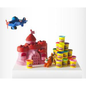 Play Doh pack de 20 pots - Plastique - 84 g - Multicolore