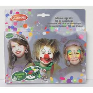 Kit de maquillage + livret - Multicolore