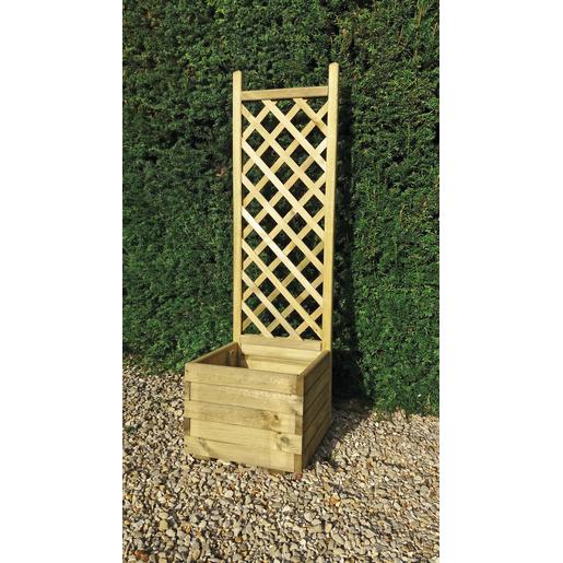 bac avec treillis 135 cm am nagement terrasse et. Black Bedroom Furniture Sets. Home Design Ideas