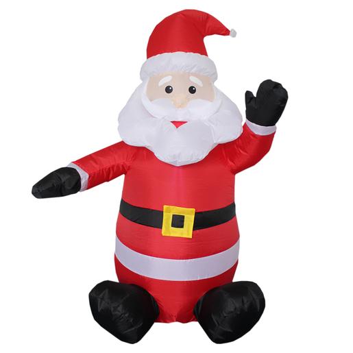 Père Noël Gonflable Guirlandes Lumineuses Extérieures De Noël La
