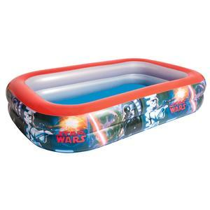 Piscine Star Wars - PVC - 262 x 175 x H 51 cm - Multicolore
