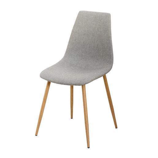 chaise gris meubles de salon la foir 39 fouille. Black Bedroom Furniture Sets. Home Design Ideas