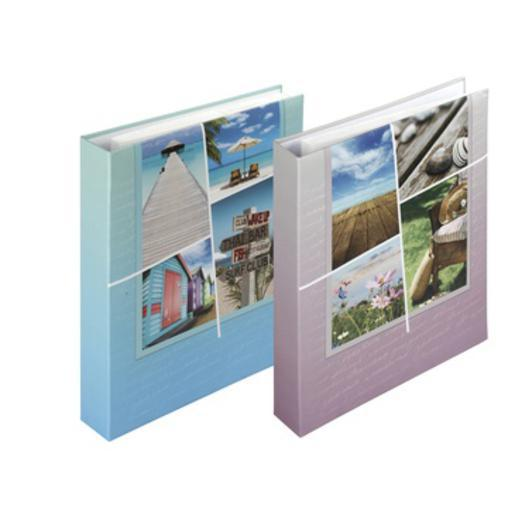 Album Calliope - 400 photos - 37,6 x 33,5 cm - Couverture carton - Polypropylène - Multicolore