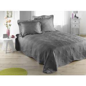 couvre lit gris et noir Couvre lit et boutis   dessus de lit pas cher | La Foir'Fouille couvre lit gris et noir