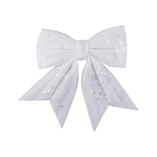 Nœud Blanc Décoration De Sapin De Noël La Foirfouille