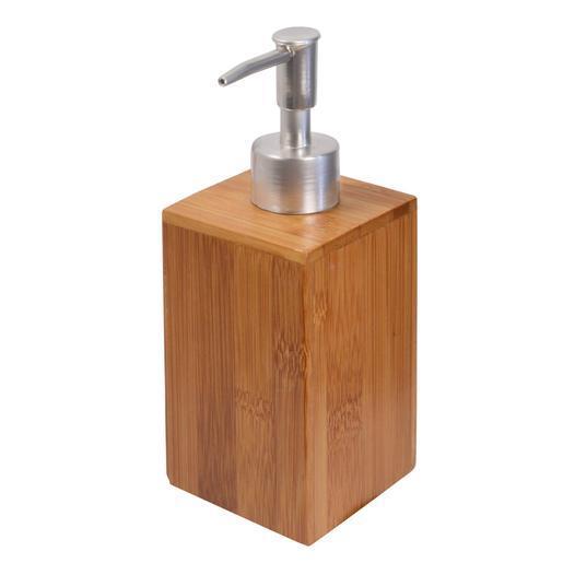 Flacon pompe bambou - Accessoires salle de bain   La Foir ...