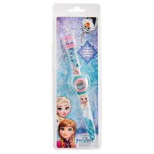 Montre digitale Frozen - Plastique - Ø 3 x 23 cm - Multicolore