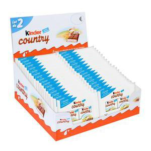 Lot de 2 KINDER COUNTRY - 94 g