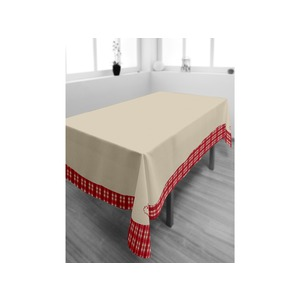Nappe rectangulaire collection Vosges - 140 x 300 - Rouge