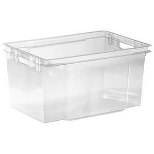 3 bacs Crownest - 50 L - Transparent
