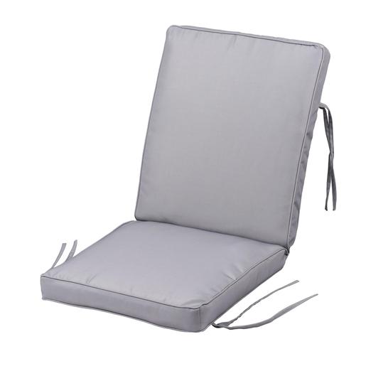 Coussin de chaise imperméable - 100 % polyester - Coussin salon de ...