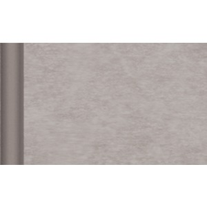 Chemin de table non tissé Gappy - 4,8 x 0,40 m - Intissé (soft) - marron taupe