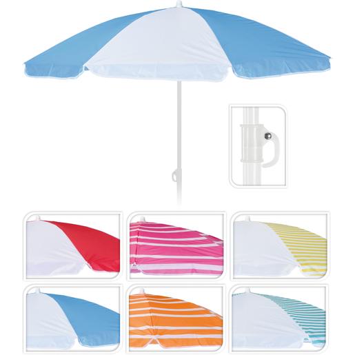 Parasol De Plage Differents Coloris Parasols Pieds De Parasols Et Voiles D Ombrage La Foir Fouille