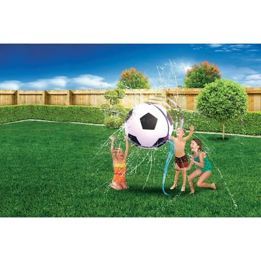 Ballon Avec Jets Deau Noir Blanc Jeux Dextérieur Pour Enfant