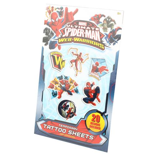 25 Tatouages Spiderman Jouets Pour Garcon La Foir Fouille