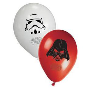 8 ballons Star Wars - Latex - Ø 30 cm - Multicolore