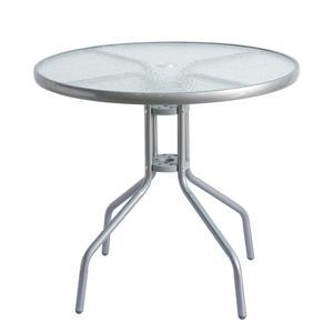 Table Bistrot - Ø 80 x H 70 cm - Gris anthracite - MOOREA