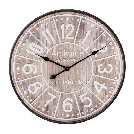 Horloge Marron Horloges murales | La Foir'Fouille