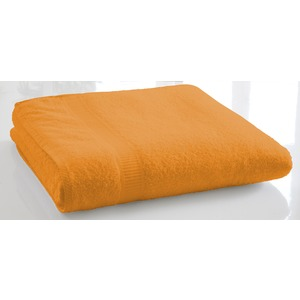 Drap de bain - 90 x 150 cm - Orange vendange