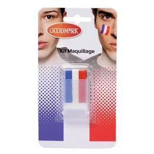 Stick de maquillage tricolore