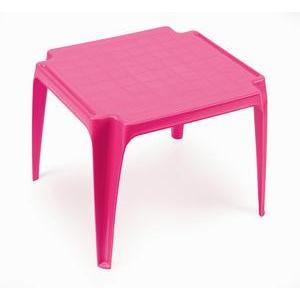 Table enfant - 55 x 50 x H 44 cm - Bleu ou rose