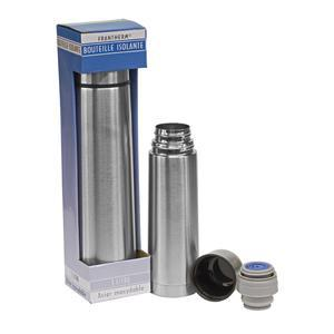 Bouteille isotherme - Inox - 50 cl - Gris