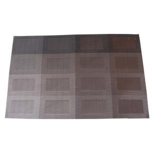 Set de table Design - PVC - 30 x 45 cm - Marron et beige