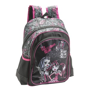 Sac à dos Monster High - 38 x 27 x 14 cm - Multicolore