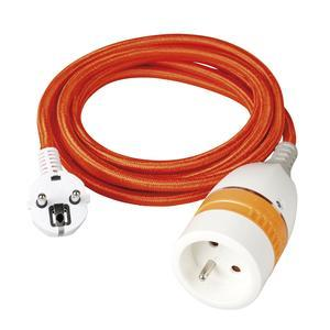 Prolongateur internet et cable - L 3 m - Orange
