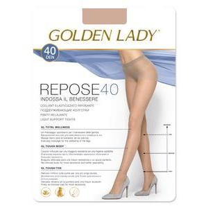 Collants semi-opaques 40D Golden Lady - L - Beige