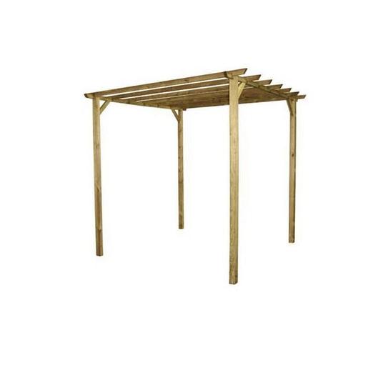 Pergola Wood 300 X 300 X H 244 Cm Tonnelle De Jardin