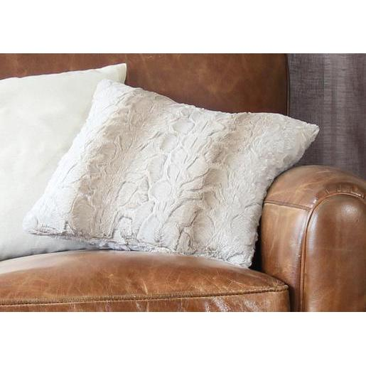 Coussin - 100% Polyester - 40 x 40 cm - Beige