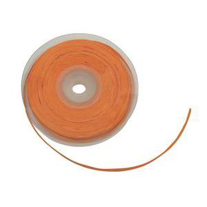 Raphia en papier - 7 mm x 25 m - Orange