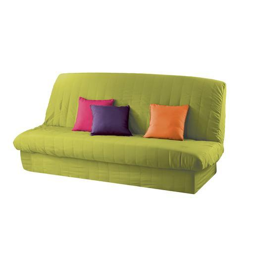 housse de clic clac vert anis Housse de clic clac matelassée   120 à 140 cm x 185 à 200 cm  housse de clic clac vert anis