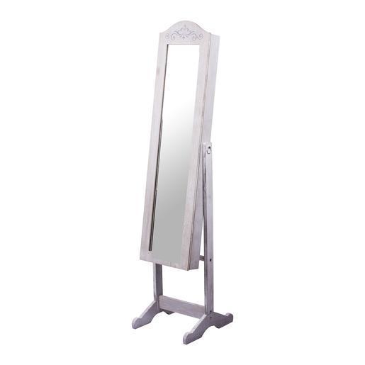 Miroir range bijoux Charme - Miroirs | La Foir\'Fouille