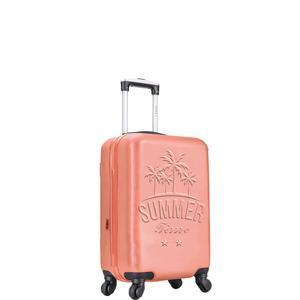Valise 4 roues - 50 cm - Corail