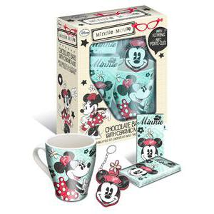Coffret Minnie - Céramique - 16 x 9 x H 21 cm - Multicolore