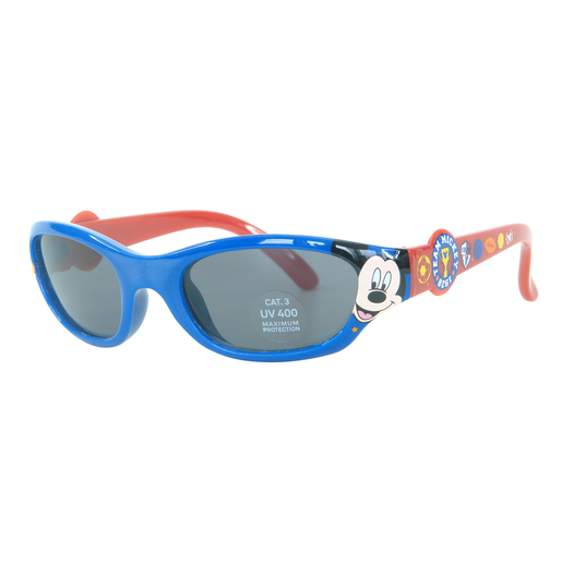 288e4bff86960 Lunettes de soleil Mickey pour enfant - Plastique - Indice de protection 3  - Multicolore