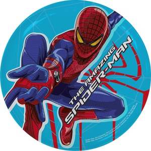 Assiette The Amazing Spiderman en mélaine - Multicolore