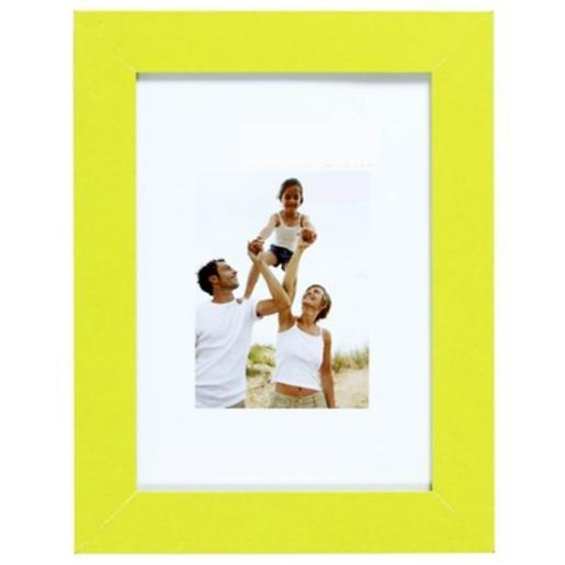 Porte-photo en optimo anis et MDF - 44 x 34 cm - vert