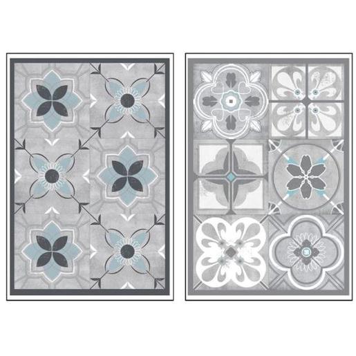 Stickers Carrelage Ciment Stickers Et Adhésifs Déco La Foir - Faience cuisine et tapis luxembourg