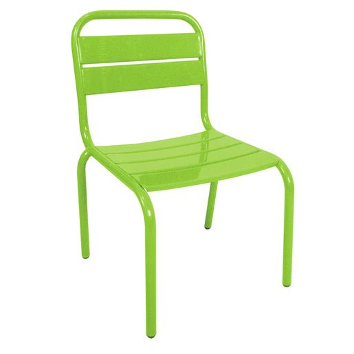 Chaise - Acier - Vert - Mobilier de jardin | La Foir\'Fouille