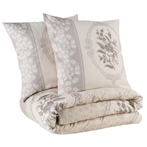 Parure de lit Marron Beige - Linge de lit | La Foir\'Fouille