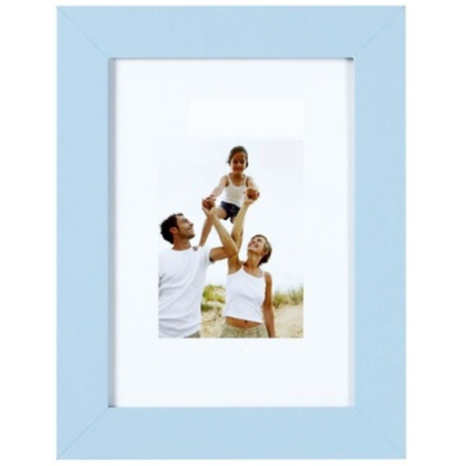 Cadre photo collection Optimo - 18 x 24 cm - Bleu ciel