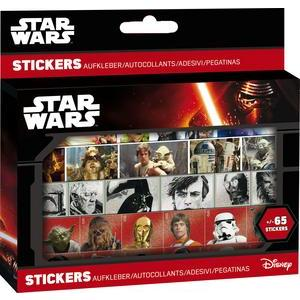 Boîte de 65 stickers Star Wars