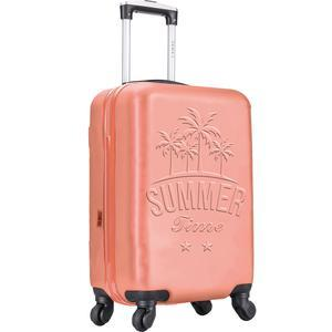 Valise 4 roues - 70 cm - Corail